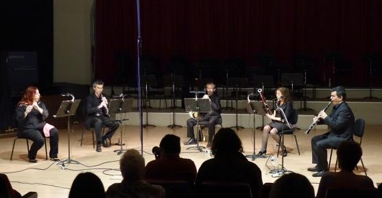 Συναυλία και ηχογράφηση του Rondo από το ThessQuintet